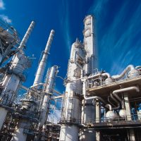 Chemical Plant --- Image by © Keith Wood/Corbis